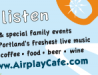 Airplay Cafe Postcard