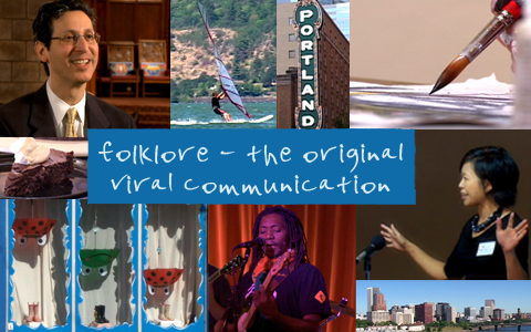Folklore-montage